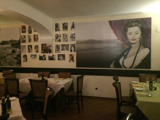 Ristorante Donna Sofia: Inside the restaurant