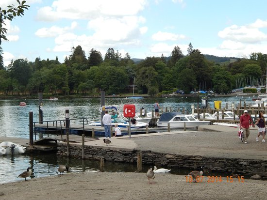 Bowness-on-Windermere, UK: bowness docks