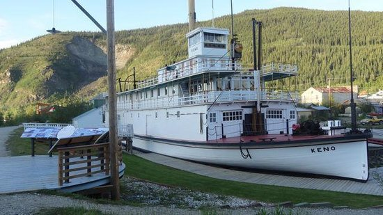 5 finger rapids yukon river paddle wheelers went through the