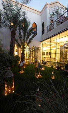 Palais Khum : jardin el bacha