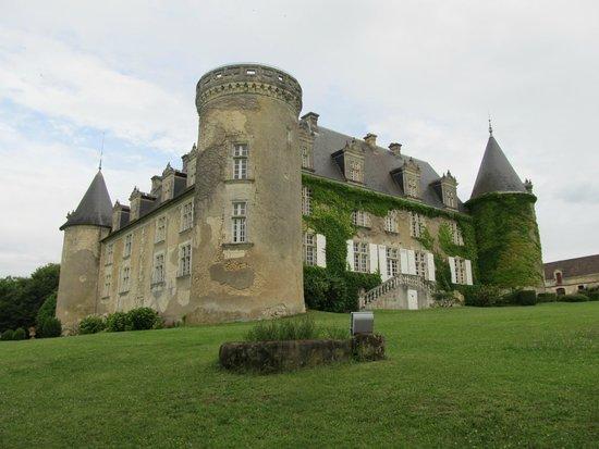 Château de La Côte : Un autre aspect du château