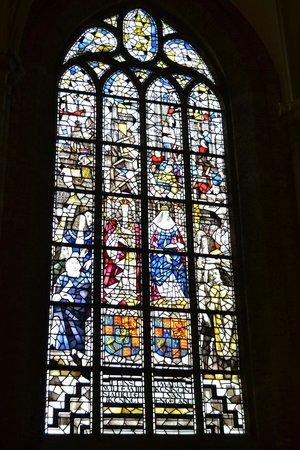 Nieuwe Kerk: William III and Mary window