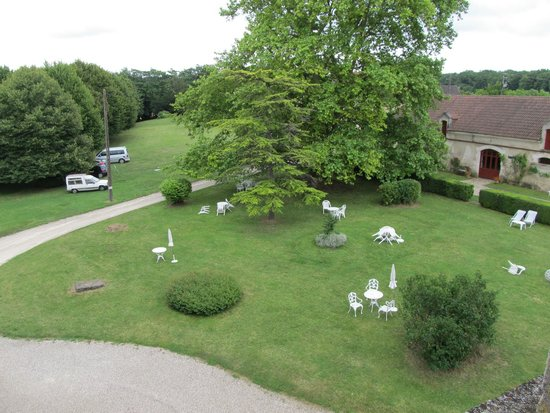Château de La Côte : Une partie du parc