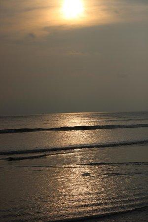 Nagaon Beach : Private Beach for resorts next to beach