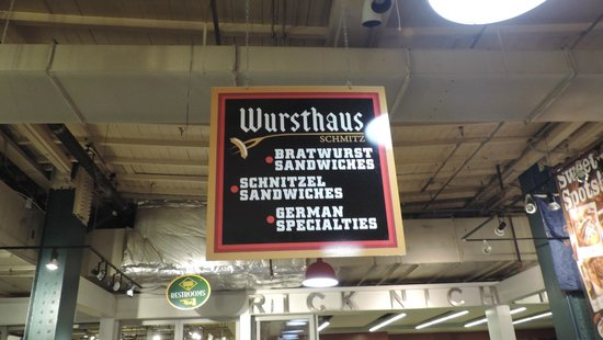 Reading Terminal Market: Deutscher Metzger :-)