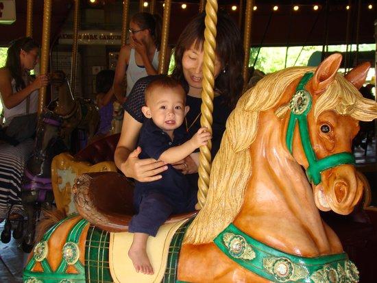 Lakeside Park Carousel: Big Fun