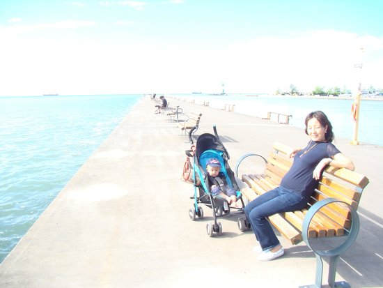Lakeside Park Carousel: Beautiful lake views