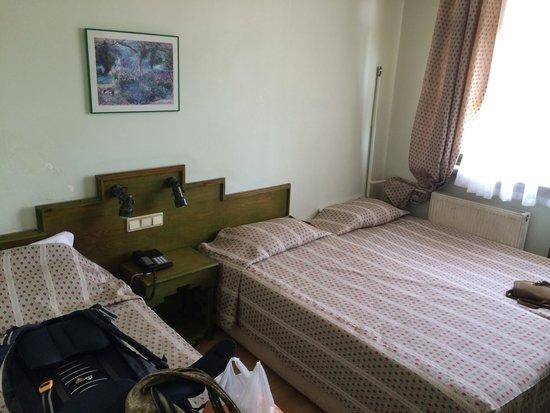 Pamuksu Boutique Hotel : Twin / triple room