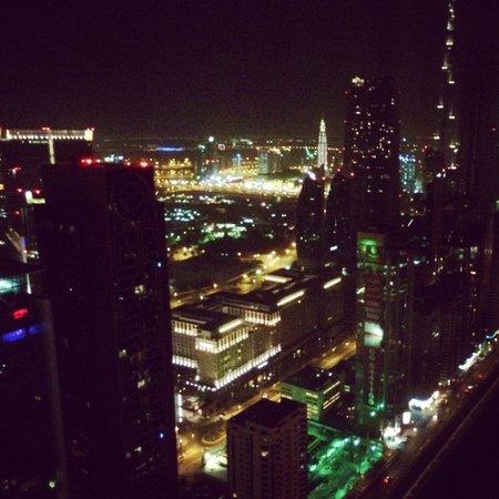 Millennium Plaza Hotel Dubai : Вид с 59 этажа