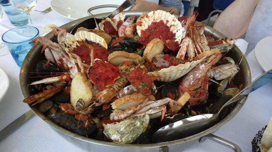 Ristorante Da Giuliano al Porto Canale: Zuppetta di frutti di mare...