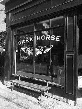 Dark Horse Espresso Bar: Art Shot