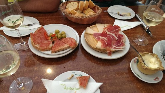 Restaurante Bar Andaluz: tasty tapas