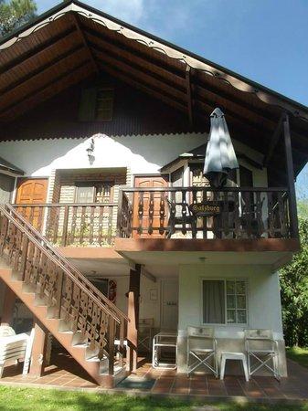 Alpenhaus Gasthaus : Cabaña
