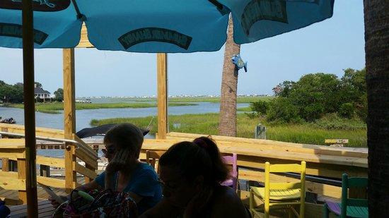 Wahoo's Fish House: wahoos view