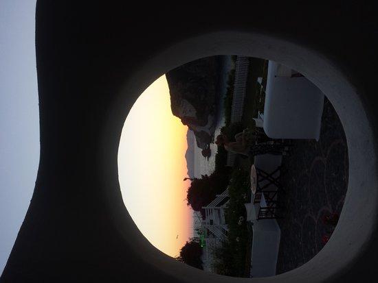 Grand Hotel Chiaia Di Luna : il tramonto