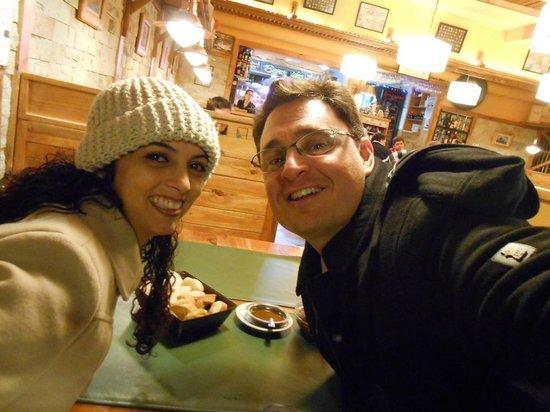 La Parrilla de Tony: Jantar romântico, lua de mel!