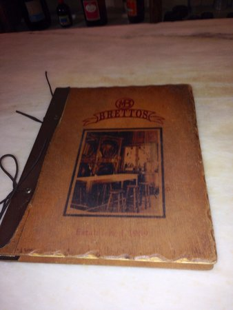 "Brettos Bar: The ""Holy Brettos Drinks"" Book"