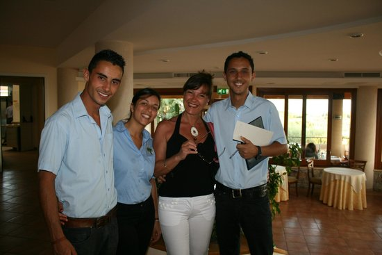 Hotel Residence Santa Chiara: Carlo e Antonio Scordamaglia e Caterina