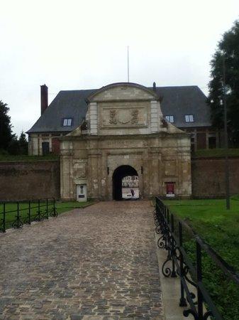 Citadel in Arras: Entrance