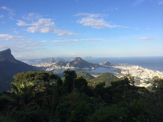 Vista Chinesa: Dia lindo para observar a Rio!