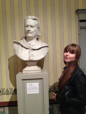 Musee Balzac - Chateau de Sache: Le buste