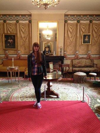 Musee Balzac - Chateau de Sache: Le salon