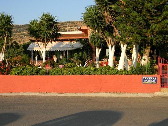 Taverna Vassilis - Katse Kala: esterno