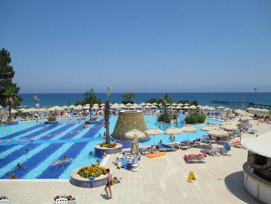 Club Marmara Kimeros Hotel: vue de la salle de restaurant
