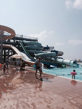 Eftalia Holiday Village: New aqua park on eftalia island