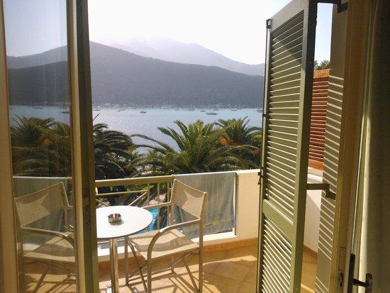 Cleopatra Beach Hotel: Uitzicht vanuit de hotelkamer