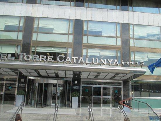 Gran Hotel Torre Catalunya : Entry to Hotel