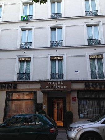 Hotel Eiffel Turenne: 外観