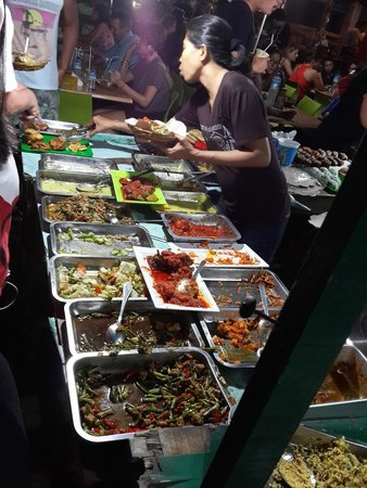 Gili Trawangan Night Market: Nasi Campur