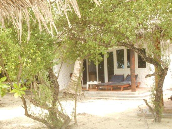 Cinnamon Dhonveli Maldives : Unser Beachbungalow, ca. 10 Meter vom Strand entfernt