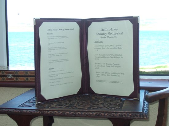 Stella Maris Country House Hotel: Delights2Come