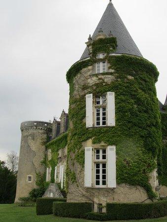 Château de La Côte : Magnifique tour entourée de lierre qui bourdonne... (?)