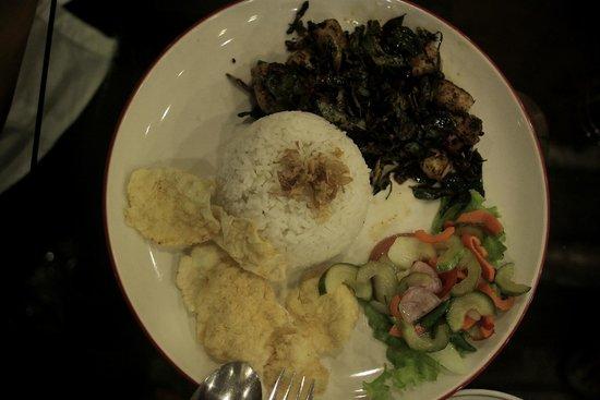Tong's Cafe: nasi rempah