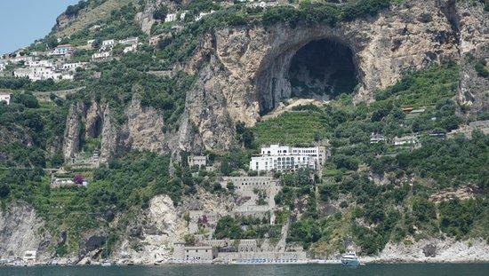 Il Saraceno Grand Hotel: view from the sea