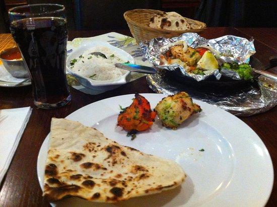 Rasoi: Chicken Tikka and Naan
