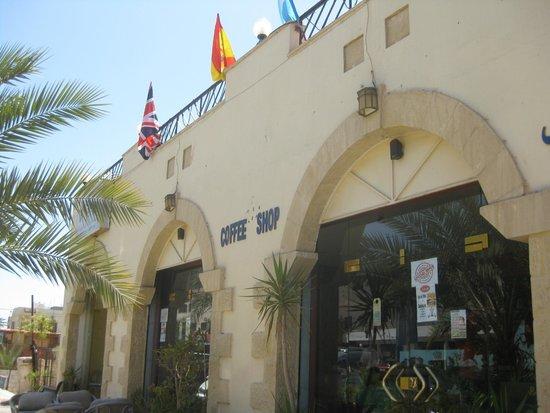 Golden Tulip Aqaba: soort van cafe dat bij hotel hoort