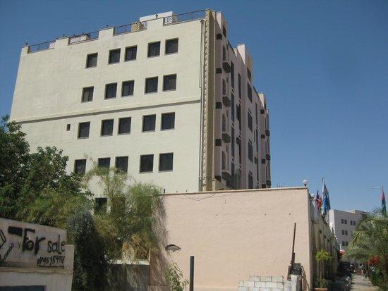 Golden Tulip Aqaba: Hotel van de buitenkant