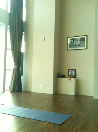 Sukhumvit: nice yoga studio