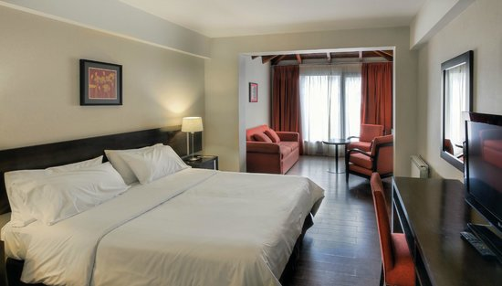 Hotel Crans Montana: Suite Matrimonial