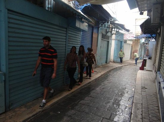 Medina de Túnez: Ruas na Medina