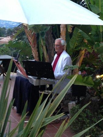 Restaurante Villa Romana: Miercoles y sabado live romantik musik con Pieter!