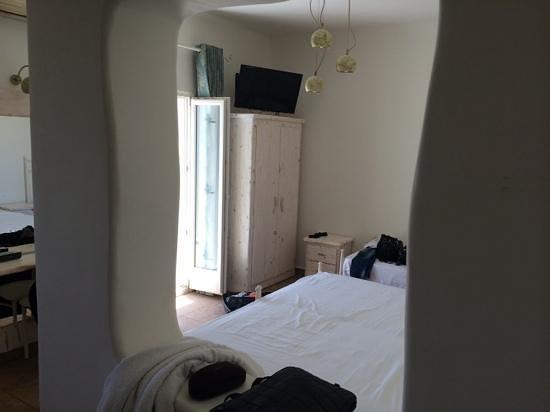 Villa Manos : chambre triple 1