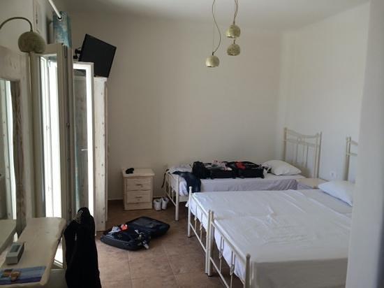 Villa Manos : chambre triple 2