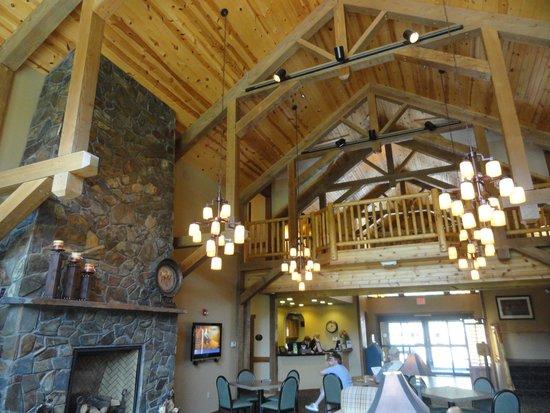 K Bar S Lodge: Gorgeous lobbey