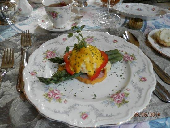 Albion Manor Bed and Breakfast: Frühstück