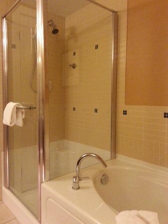 Summerland Waterfront Resort & Spa : shower